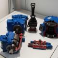 Rezy komponentov používané na školenie