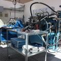 Pracovisko opráv a testovania čerpadiel a hydromotorov